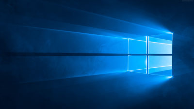 Windows 10 Blue Window Graphic
